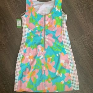 Lily Pulitzer Shorely Blue Dress NWT